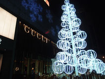 Christmas in SHANGHAI CHINA. Stock Photography
