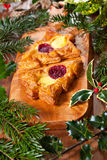 Christmas shape pastry Royalty Free Stock Images