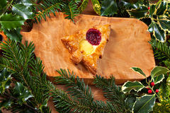 Christmas shape pastry Stock Image