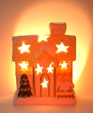 Christmas shed Stock Image