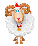 Christmas sheep Royalty Free Stock Photo