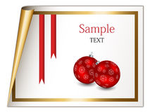 Christmas sheet Royalty Free Stock Photo