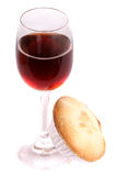 Christmas sherry and mince pie Royalty Free Stock Images