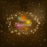 Christmas shimmering background Stock Photography
