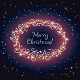 Christmas shining background Stock Photos