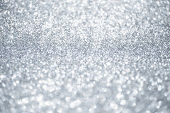 Christmas shiny background. Abstract silver Stock Photography