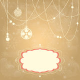 Christmas shiny background Stock Images