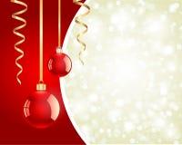 Christmas shiny balls Royalty Free Stock Image