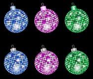 Christmas shiny balls Royalty Free Stock Photography