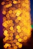 Christmas shiny bokeh Royalty Free Stock Photography