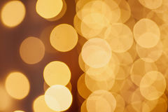 Christmas shiny bokeh Royalty Free Stock Photo