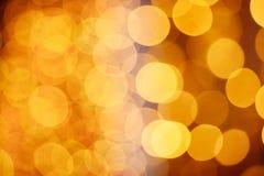 Christmas shiny bokeh Royalty Free Stock Images