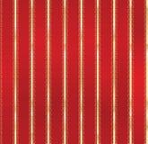Christmas Shiny Striped Pattern Stock Photography