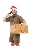 Christmas Shipment Is On The Way Stock Image