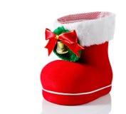 Christmas shoe Royalty Free Stock Image
