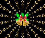 Christmas shooting stars background  Royalty Free Stock Photo