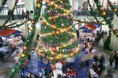Christmas shop 2 royalty free stock photos