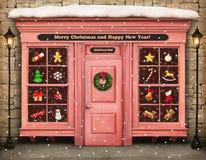 Christmas shop Royalty Free Stock Photography