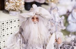 Christmas shop of souvenirs and jewelry in the town of Sainte-Andr in Hungary. stock photo