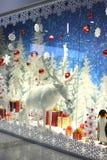 Christmas shop window Stock Image