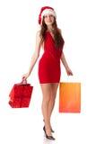 Christmas shopping. Stock Image
