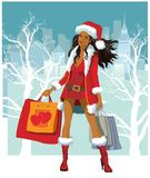 Christmas shopping 2 Royalty Free Stock Photo