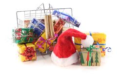 Christmas shopping Stock Photo