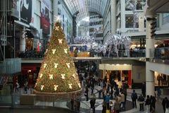 Christmas shopping Stock Photo
