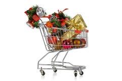 Christmas shopping Stock Image