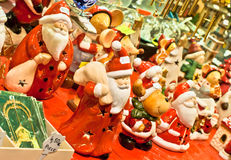 Christmas shopping. Traditional christmas shopping, christmas market in Strasbourg-France Stock Image