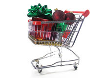 Christmas shopping 4 Stock Image
