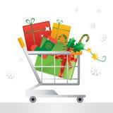 Christmas shopping Royalty Free Stock Photo
