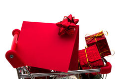 Christmas Shopping Stock Image