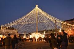 Free Christmas Shopping At Traditional Christmas Market Royalty Free Stock Photo - 63465765