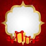 Christmas shopping background Royalty Free Stock Photo