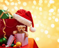 Christmas shopping bag Royalty Free Stock Photo