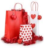 Christmas shopping bag Stock Photography