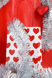 Christmas shopping bag Royalty Free Stock Image