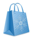 Christmas shopping bag Royalty Free Stock Photo
