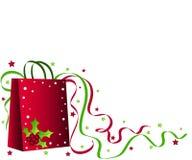 Christmas Shopping Bag Stock Images