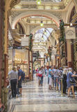 Christmas Shopping, The Block Arcade, Melbourne, Australia. Royalty Free Stock Images