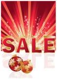 Christmas shopping card. Stock Image