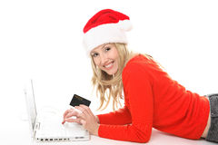 Christmas Shopping club Stock Images