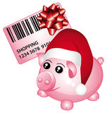 Christmas shopping concept. Royalty Free Stock Photo