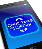 Christmas shopping concept. Stock Photo