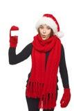 Christmas shopping concept Stock Photography