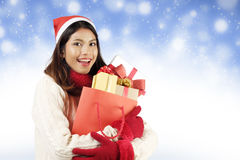 Christmas shopping concept. Royalty Free Stock Image