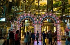 Free Christmas Shopping In Bangkok, Thailand Stock Photo - 17227740