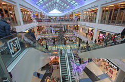 Christmas shopping in Moscow Royalty Free Stock Photo