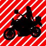 Christmas Shopping Silhouette Illustration Royalty Free Stock Photos